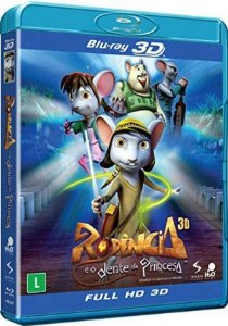 Blu Ray 3D/2D Rodencia E O Dente Da Princesa