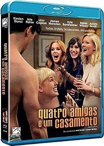 Blu-Ray Quatro Amigas e um Casamento - Kirsten Dunst