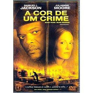 DVD - A Cor de Um Crime - Samuel L. Jackson