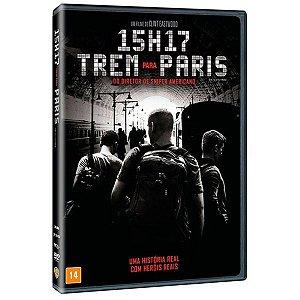 Dvd 15h17 - Trem Para Paris
