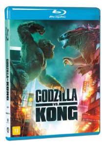 Blu-Ray Godzilla vs. Kong Pre venda entrega a partir de 06/10/21