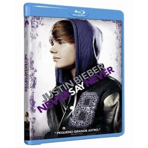 Blu Ray Justin Bieber - Never Say Never