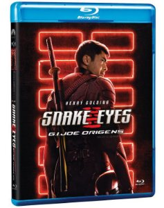 Blu-Ray Snake Eyes GI Joe Origins - Pré venda entrega a partir de 24/11/21