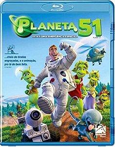 Blu-Ray Planeta 51