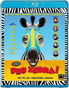 Blu-ray - Deu Zebra!