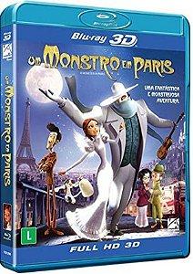 Blu-ray 3D/2D Um Monstro em Paris