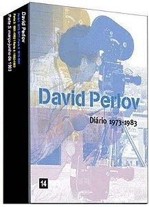 Box DVD DIARIO DE PERLOV -  David Perlov - Bretz Filmes
