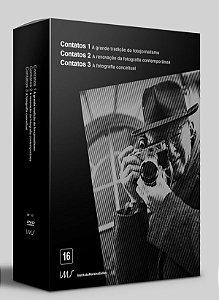 DVD BOX CONTATOS Vol 1, 2 E 3 - Bretz Filmes