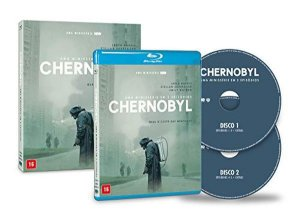 Blu-Ray Chernobyl - Minissérie Completa Hbo Box Duplo + Luva