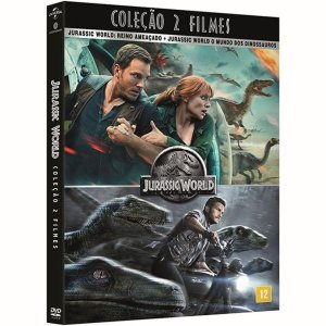 DVD - Coleção Jurassic World ( 2 Filmes )