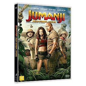 Dvd - Jumanji: Bem Vindo À Selva
