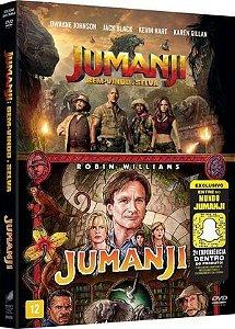DVD Box - Coleção Jumanji