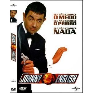 Dvd - Johnny English - Rowan Atkinson