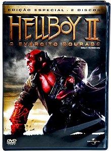 DVD DUPLO Hellboy 2 - O Exército Dourado
