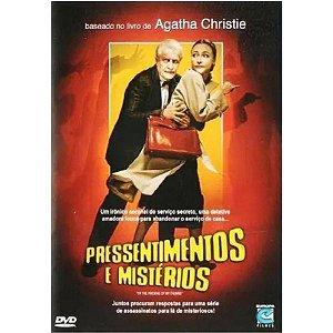 DVD Pressentimentos e Mistérios - Agatha Christie