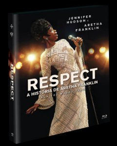 Blu-Ray (LUVA) Respect A História de Aretha Franklin - (EXCLUSIVO) Pre venda entrega a partir de 16/12/21