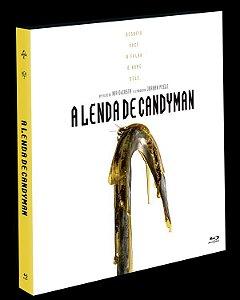 Blu-Ray (LUVA) A Lenda de Candyman - (EXCLUSIVO) Pre venda entrega a partir de 16/12/21