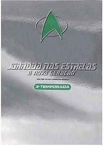 Dvd Jornada Nas Estrelas A Nova Geração 3 Temporada 7 discos