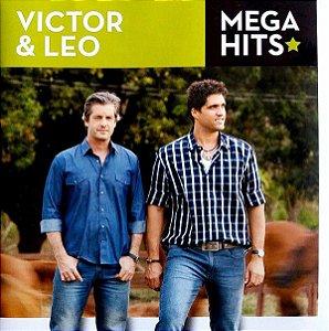Cd Coletânea Victor E Léo - Mega Hits