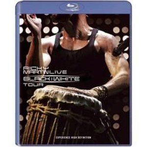 Bluray  Ricky Martin Live: Black And White Tour