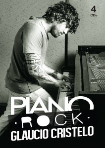 Cd Piano Rock - Glaucio Cristelo - 4 Discos