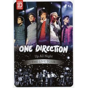 DVD One Direction  Up All Night: The Live Tour