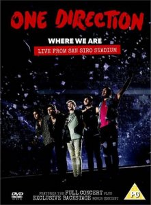 Dvd One Direction Where We Are: Live From San Siro Stadium
