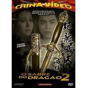 Dvd - O Sabre Do Dragão 2 - China Video