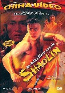 Dvd As Artes Marciais de Shaolin - China Video