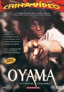Dvd Oyama - o Lutador Lendário - China Video