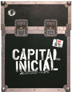 Box Dvd - 2 cds  - Capital Inicial Acustico Nyc