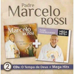 Cd - Padre Marcelo Rossi - O Tempo De Deus e Mega Hits