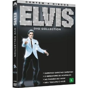 DVD Elvis Collection (4 DVDs)