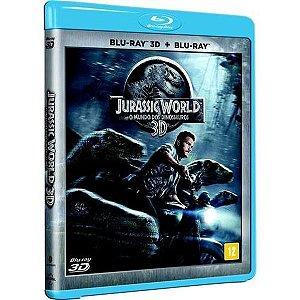 Blu-Ray 3D + Blu-Ray - Jurassic World: o Mundo dos Dinossauros