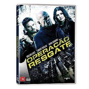 DVD OPERAÇÃO RESGATE - BRUCE WILLIS