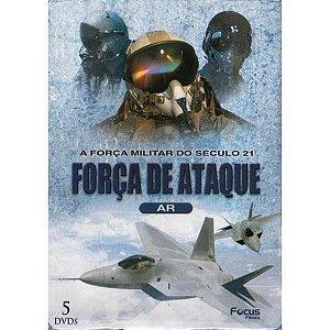 Dvd Box Força de Ataque - A Força Militar do Século 21 - Ar (5 Discos)