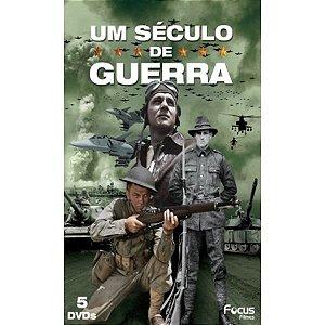 DVD BOX UM SÉCULO DE GUERRA - 5 DISCOS