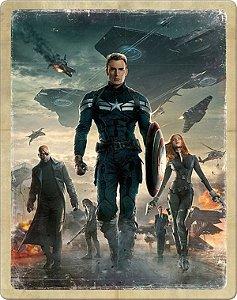 SteelBook Blu-Ray - Capitão América: Soldado Invernal