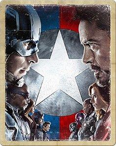 SteelBook Blu-Ray - Capitão América: Guerra Civil