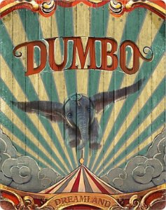 Steelbook Blu-Ray - Dumbo (2019)