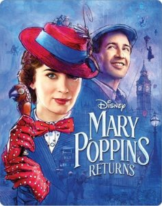 Steelbook - O Retorno de Mary Poppins