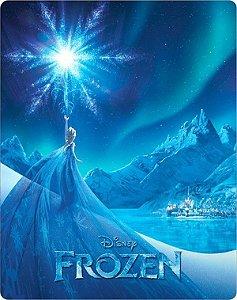 SteelBook Blu-Ray - Frozen: Uma Aventura Congelante