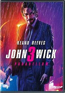 DVD - John Wick - 3 Parabellum