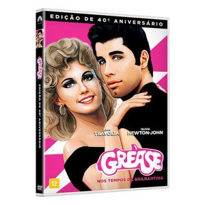 DVD - Grease Remasterizado - 40 Anos