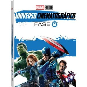 Blu-Ray Marvel Universo Cinematográfico - Fase 2 - 6 Discos