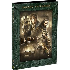 Blu-ray - O Hobbit - A Desolação de Smaug - Edição Estendida (3 Discos)