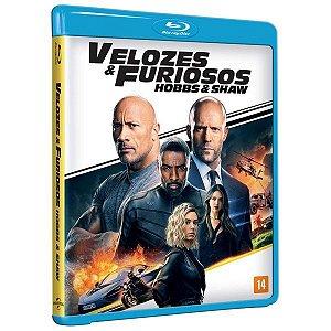 Blu-Ray  - VELOZES E FURIOSOS HOBBS E SHAW