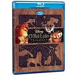 Blu-Ray - O Rei Leão - A Trilogia