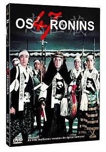 DVD BOX OS 47 RONINS - VERSÁTIL