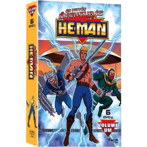 DVD As Novas Aventuras De He  Man Vol 1 (6 DVDs)